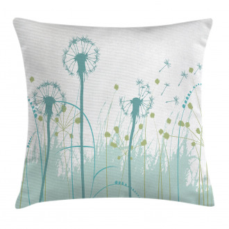 Floral Botany Blooms Pillow Cover