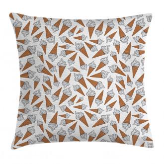 Yummy Desert Gelato Pillow Cover