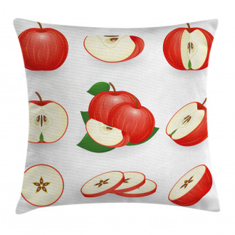Juicy Fresh Fruits Nature Pillow Cover