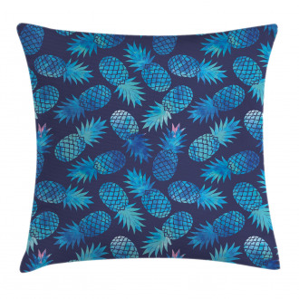 Exotic Pineapple Figures Pillow Cover