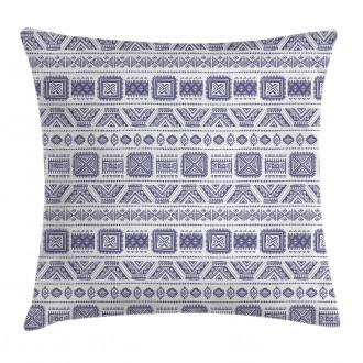 Mexico Aztec Ethnic Boho Pillow Cover
