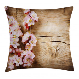Spring Blossom Orchard Pillow Cover