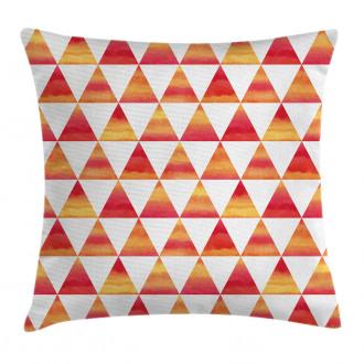 Triangle Geometric Art Pillow Cover