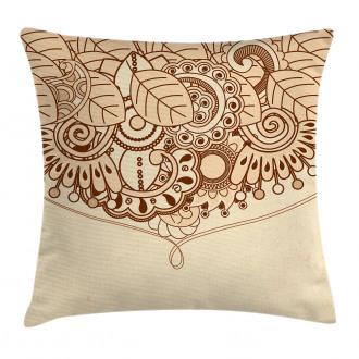 Eastern Asian Ethnic Design Pillow Cover