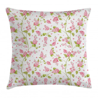 Nature Blossom Buds Pillow Cover