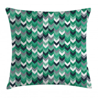 Symmetric Zig Zag Lines Pillow Cover