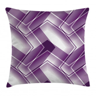 Trippy Digital Shapes Pillow Cover