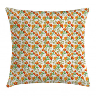 Garden Spring Branches Pillow Cover