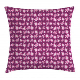 Heart Like Leaves Swirls Pillow Cover