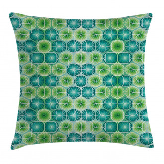 Vector Pattern Flowers Pillow Cover