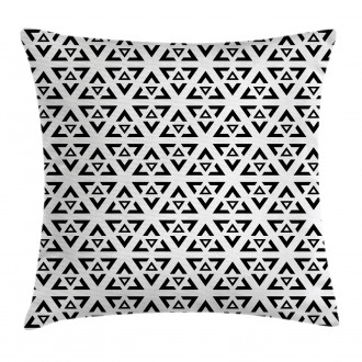 Modern Triangle Pillow Cover