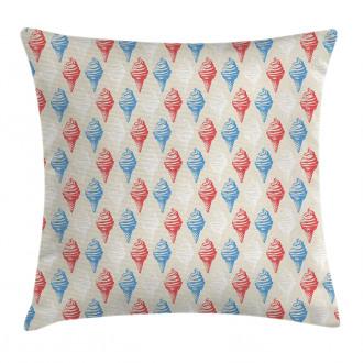 Creamy Sugary Desserts Pillow Cover