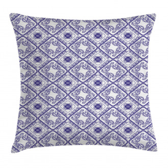 Art and Craft Flower Pillow Cover