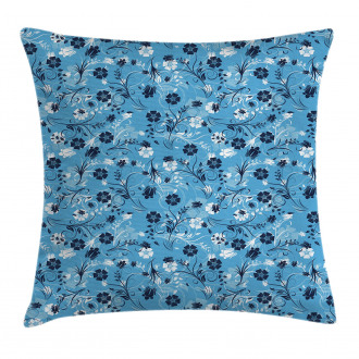 Shabby Chic Petals Pillow Cover