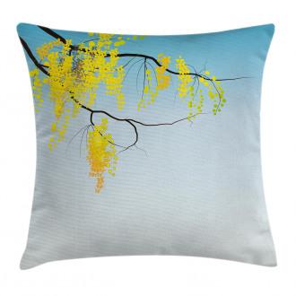 Flowers Bud Blossom Artwork Pillow Cover