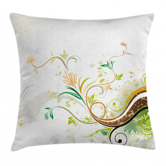 Flowers Ivy Leaves Ivy Pillow Cover