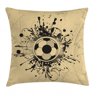 Football Abstract Modern Pillow Cover