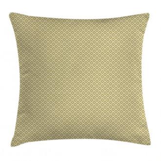 Diamond Line Pattern Pillow Cover