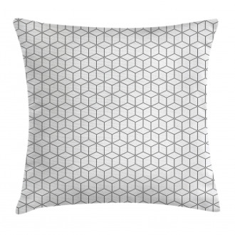Geometric Square Shape Pillow Cover