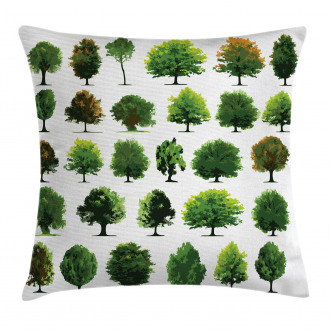 Pines Planes Bushes Tree Pillow Cover