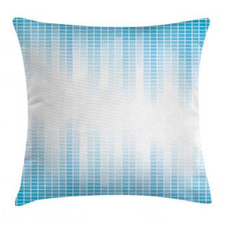 Geometric Squared Design Pillow Cover