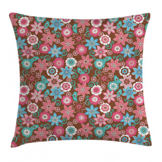 Flower Petals Florets Pillow Cover