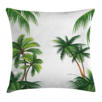 Coconut Palm Tree Plants Pillow Cover