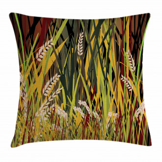 Plant Forest Farm Leaves Pillow Cover