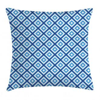 Geometric Diamond Form Pillow Cover
