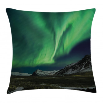 Polaris Mountain Pillow Cover