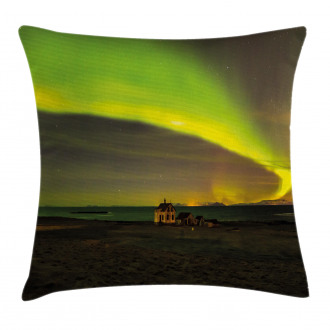 Abandoned House Pillow Cover