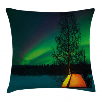 Camping Tent Field Pillow Cover