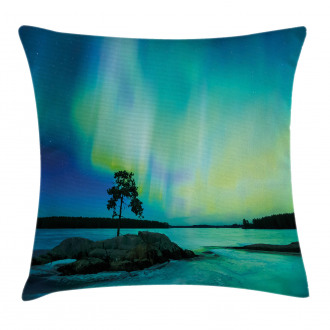 Rocky Stone River Pillow Cover
