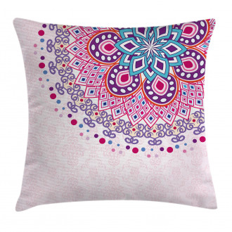 Ornamental Figure Pillow Cover