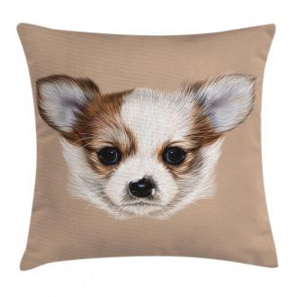 Cute Little Furry Friend Pillow Cover