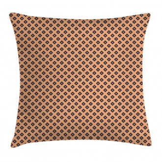 Diagonal Tile Square Pillow Cover
