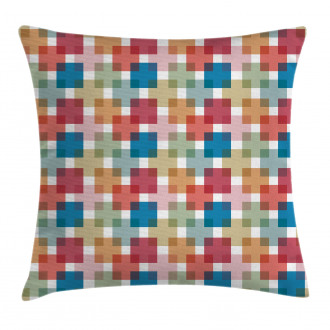 Wall or Floor Squares Pillow Cover