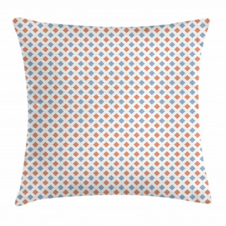 Colored Rhombs Borders Pillow Cover