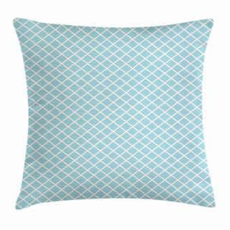 Squares Lines Geometric Pillow Cover