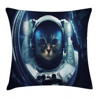 Glass Rocket Galaxy Pillow Cover