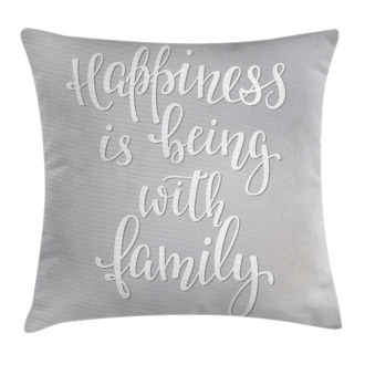 Positive Family Pillow Cover