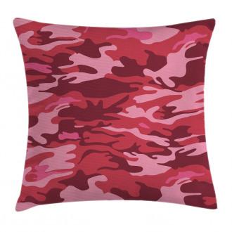 Camo Texture Autumn Theme Pillow Cover
