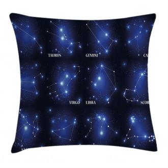 Zodiac Sign Set Pillow Cover
