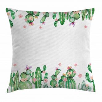 Tender Romantic Blossoms Pillow Cover