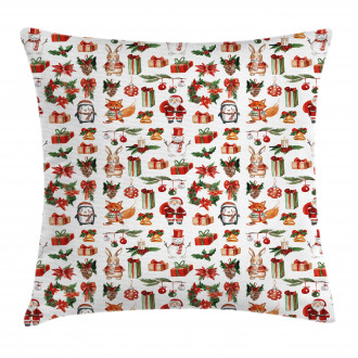 Icons Rabbits Candles Pillow Cover