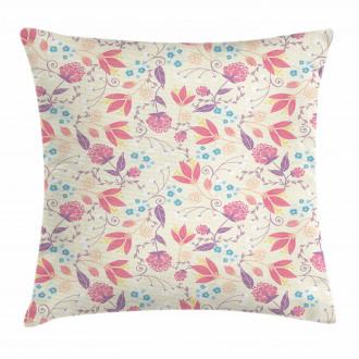 Fresh Cute Spring Field Pillow Cover