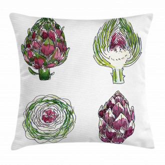 Vegetables Diet Food Pillow Cover