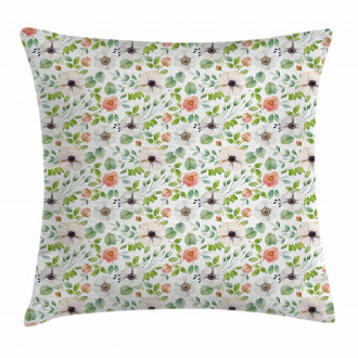 Flourish Artwork Pillow Cover
