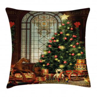 Magical Xmas Tree Pillow Cover