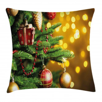 Close Up Tree Blurred Pillow Cover